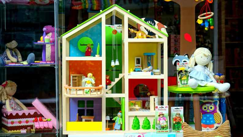 decor decoration display doll house